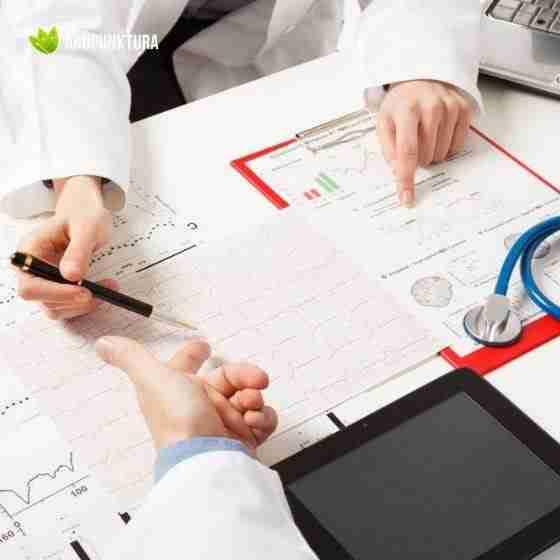 analiza badań i historii choroby