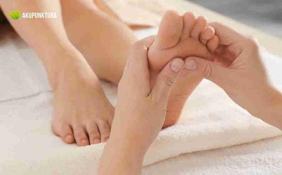 faq masaż stopa