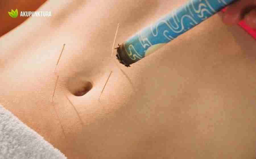 moksowanie na brzuchu