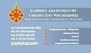 Wizytówka gabinetu