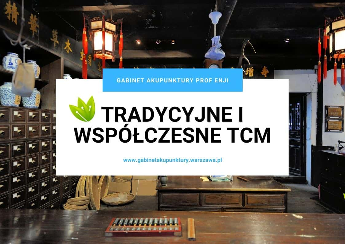 tradycyjne i wspoóczesne tcm